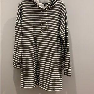 GUC Beyond Yoga stripe tunic/dress size S